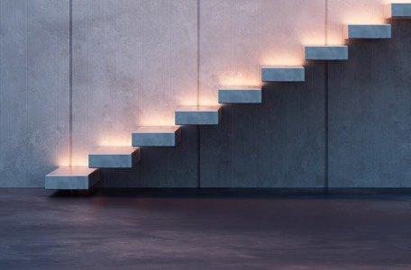 Lámparas para escaleras