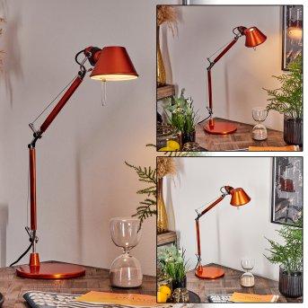 Artemide TOLOMEO MICRO Lámpara de Mesa Naranja, 1 luz