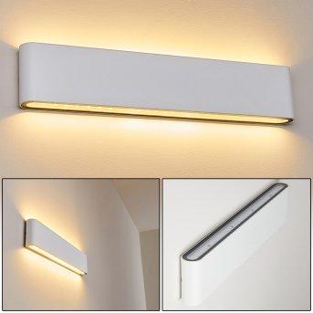 Tinglev Aplique para exterior LED Blanca, 2 luces