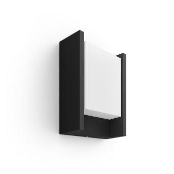 Philips Hue Ambiance White Fuzo Aplique LED Negro, 1 luz
