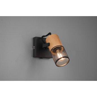 Trio Tosh Proyector LED Negro, 1 luz