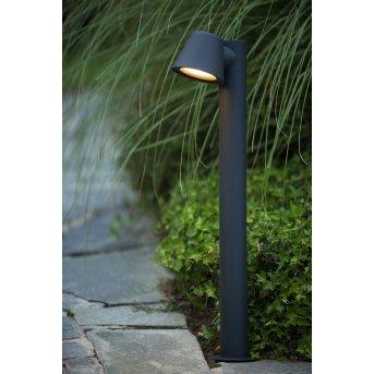 Lucide DINGO-LED Poste de Jardín Negro, 1 luz
