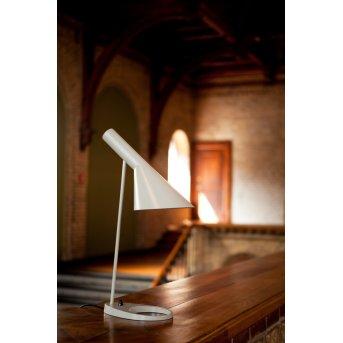 Louis Poulsen AJ Lámpara de Mesa Blanca, 1 luz