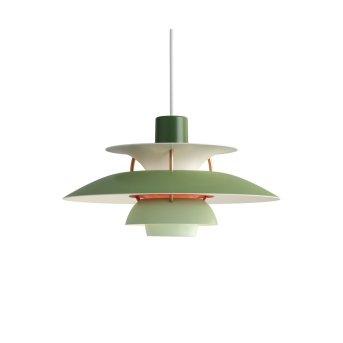 Louis Poulsen Lámpara Colgante Verde, 1 luz