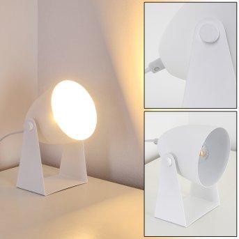 Takeda Lámpara de Mesa Blanca, 1 luz