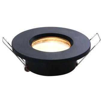 Steinhauer Pélite Lámpara empotrable Negro, 1 luz