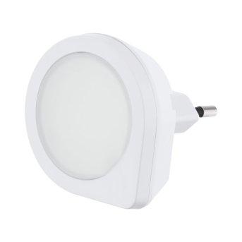 Eglo TINEO Foco con interruptor LED Blanca, 1 luz, Sensor de movimiento