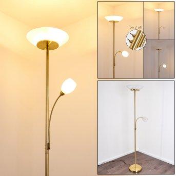 Gismaro Lámpara de Pie dorado, 3 luces