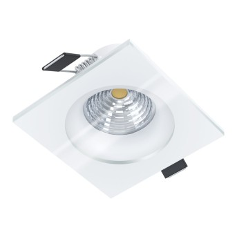 Eglo SALABATE Lámpara empotrable LED Blanca, 1 luz