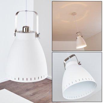Vlissingen Lámpara Colgante Blanca, 1 luz