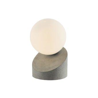 Nino Leuchten ALISA Lámpara de Mesa LED Gris, 1 luz