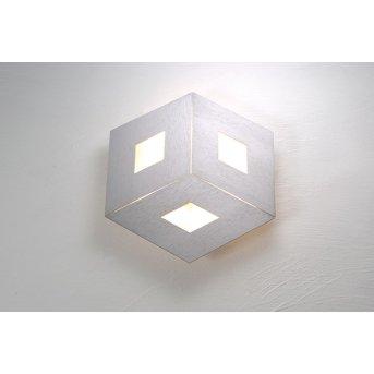 Bopp-Leuchten BOX COMFORT Lámpara de Techo LED Plata, 3 luces
