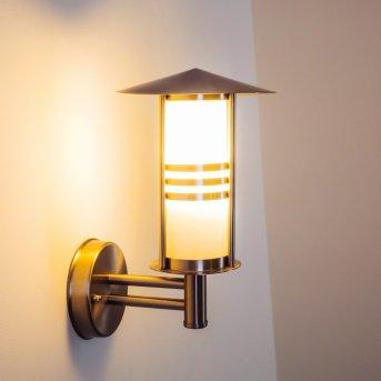Forli Aplique para exterior Acero inoxidable, 1 luz