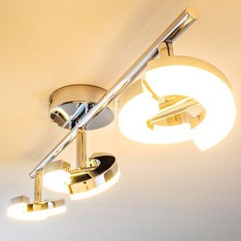 Paris Foco spot LED Cromo, 3 luces