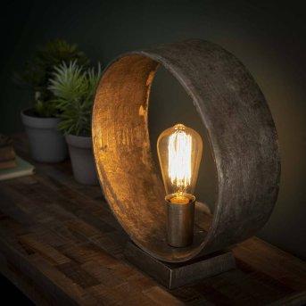 GORREDIJK Lámpara de Mesa Color óxido, 1 luz
