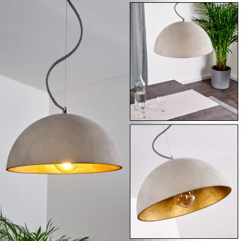 Ambri Lámpara Colgante Níquel-mate, 1 luz