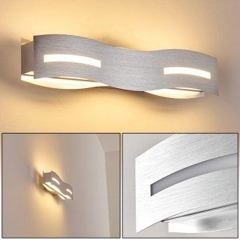 Nagold Aplique LED Níquel-mate, Cromo, 1 luz