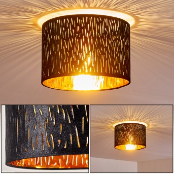 Lámpara de Techo Liared Níquel-mate, 1 luz