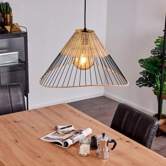 Shalo Lámpara Colgante Negro, 1 luz