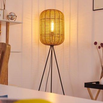 Krens Lámpara de Pie Negro, 1 luz