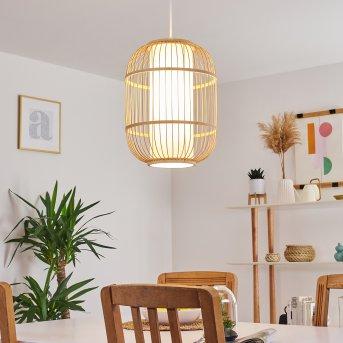Kondoz Lámpara Colgante Blanca, 1 luz