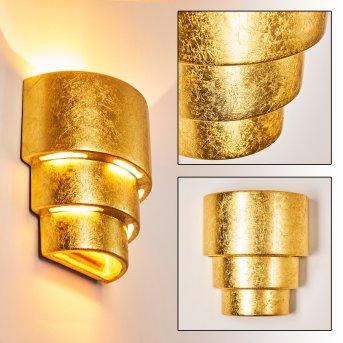 Karatschi Aplique dorado, 1 luz