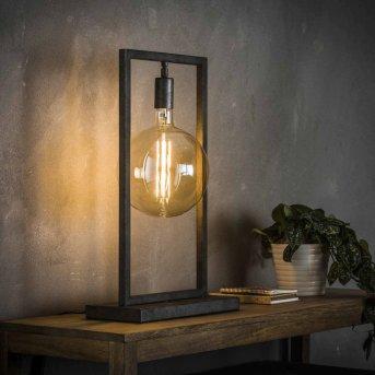 JANSKLOSTER Lámpara de mesa Plata, 1 luz