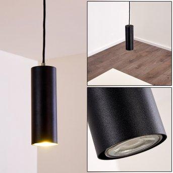 Zuoz Lámpara Colgante Negro, 1 luz