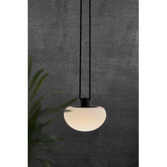 Nordlux SPONGE luminaria colgante para exteriores LED Antracita, 1 luz