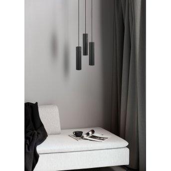 Nordlux TILO Lámpara Colgante Negro, 3 luces
