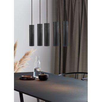 Nordlux TILO Lámpara Colgante Negro, 5 luces