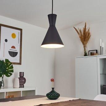 Vijes Lámpara Colgante Negro, 1 luz