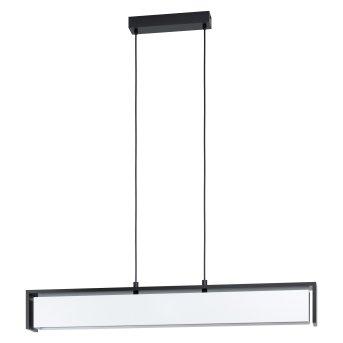Eglo VALDELAGRANO Lámpara Colgante LED Negro, 1 luz, Cambia de color