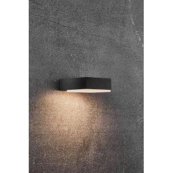 Nordlux PIANA Aplique para exterior LED Negro, 1 luz