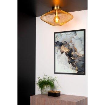 Lucide MESH Lámpara de Techo Latón, dorado, 1 luz