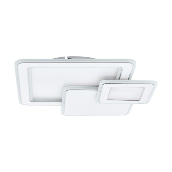 Eglo MENTALURGIA Lámpara de Techo LED Cromo, Blanca, 1 luz