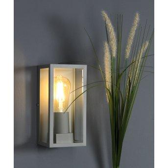 Lutec Mondrian Aplique para exterior Plata, 1 luz