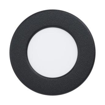 Eglo FUEVA Lámpara empotrable LED Negro, 1 luz