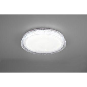 Reality Thea Lámpara de Techo LED Blanca, 2 luces