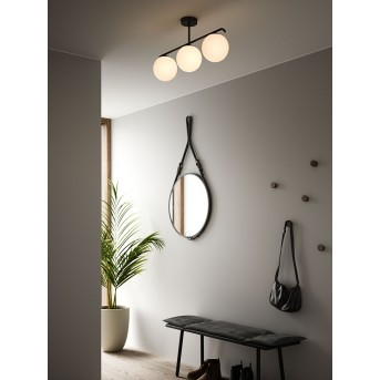 Nordlux GRANT Lámpara de Techo Negro, 3 luces