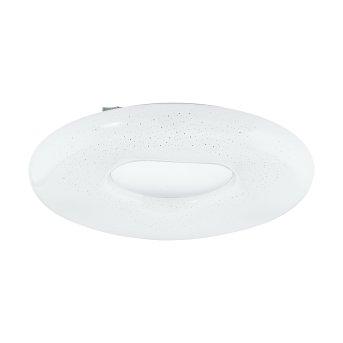 Eglo ZAMUDILO Lámpara de Techo LED Blanca, 1 luz