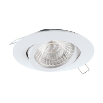 Eglo TEDO Lámpara empotrable LED Blanca, 1 luz