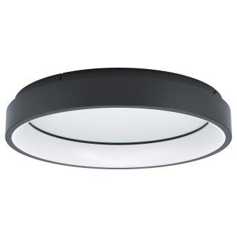Eglo MARGHERA Lámpara de Techo LED Negro, 1 luz, Cambia de color