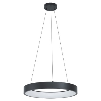 Eglo MARGHERA Lámpara Colgante LED Negro, 1 luz, Cambia de color