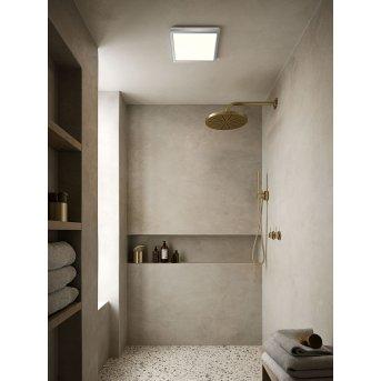 Nordlux OJA Lámpara de Techo LED Cromo, 1 luz