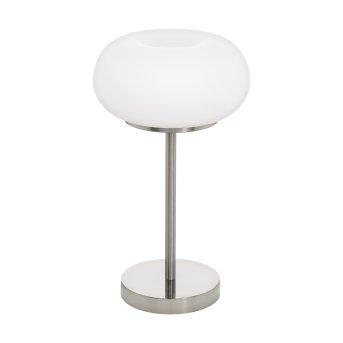 Eglo OPTICA Lámpara de mesa LED Níquel-mate, 1 luz, Cambia de color