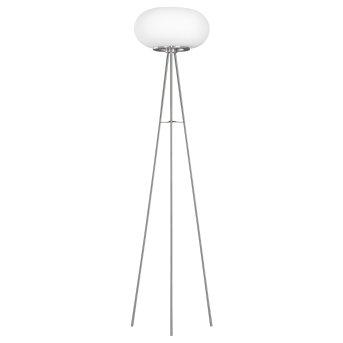 Eglo OPTICA Lámpara de Pie LED Níquel-mate, 1 luz, Cambia de color