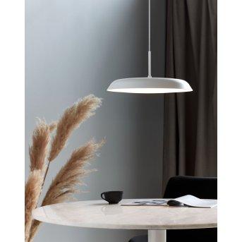 Nordlux PISO Lámpara Colgante LED Blanca, 1 luz