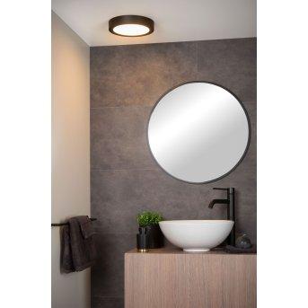 Lucide BRICE Lámpara de Techo LED Negro, 1 luz