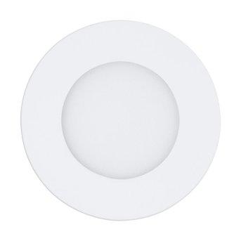 Eglo FUEVA-A Lámpara empotrable LED Blanca, 1 luz, Mando a distancia